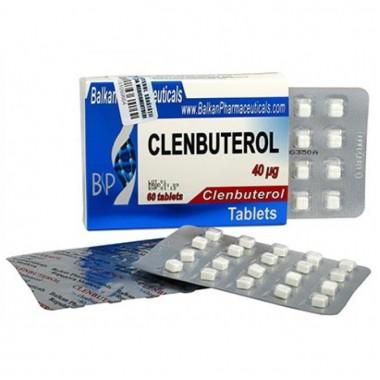 Clenbuterol Кленбутерол 40 мкг, 100 таблеток, Balkan Pharmaceuticals в Уральске