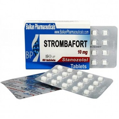 Strombafort Стромбафорт 10 мг, 100 таблеток, Balkan Pharmaceuticals в Уральске