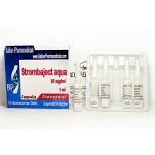 Strombaject aqua Стромбаджект аква 50 мг/мл, 10 ампул, Balkan Pharmaceuticals
