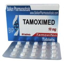 Tamoximed Тамоксифен 10 мг, 20 таблеток, Balkan Pharmaceuticals