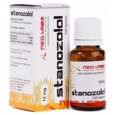 Stanozolol Станозолол 12 мг, 100 таблеток, Neo Labs в Уральске