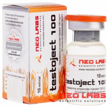 Testoject 100 Testosterone Propionate 100 мг/мл, 10 мл, Neo Labs в Уральске