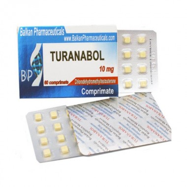 Turanabol Туринабол 10 мг, 100 таблеток, Balkan Pharmaceuticals в Уральске
