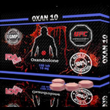 OXAN 10 Оксандролон 10 мг, 100 таблеток, UFC PHARM в Уральске