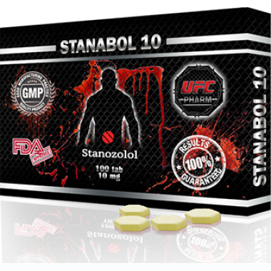 STANABOL 10 Станабол 10 мг, 100 таблеток, UFC PHARM в Уральске