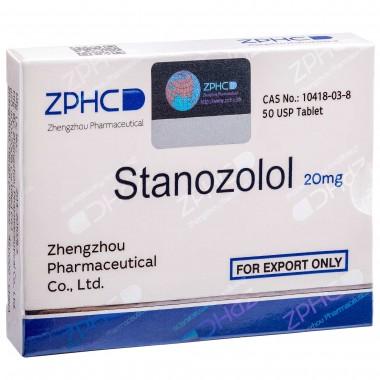 Stanozolol Станозолол оральный 20 мг, 50 таблеток, ZPHC в Уральске