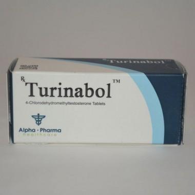 Turinabol (Туринабол) Alpha Pharma 50 таблеток (1таб 10 мг) в Уральске